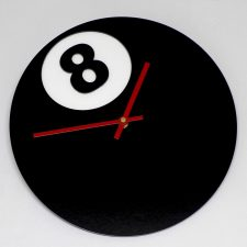 Reloj de pared Bola 8