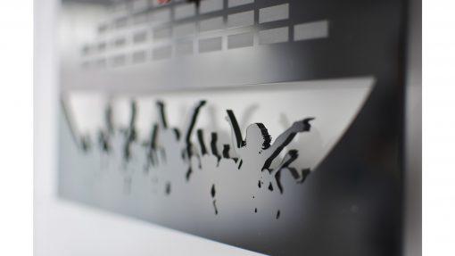 Reloj de pared DJ