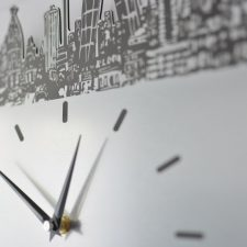 Reloj de pared De Madrid al cielo