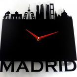 Reloj de pared Madrid