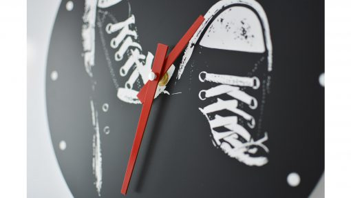 Reloj de pared Zapatillas