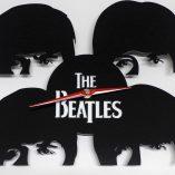 Reloj de pared Beatles caras