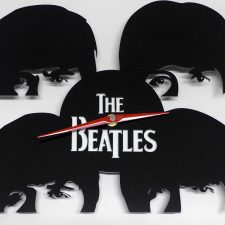 Reloj de pared Beatles caras