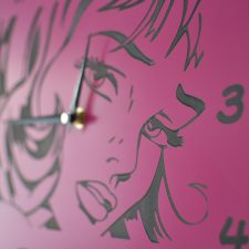 Reloj de pared Comic