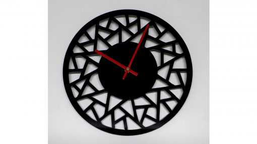 Reloj de pared abstracto