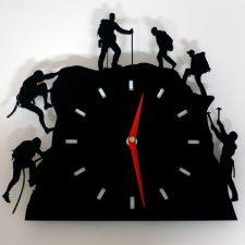 Reloj de pared escalada