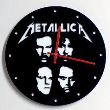 Reloj de pared Metallica caras