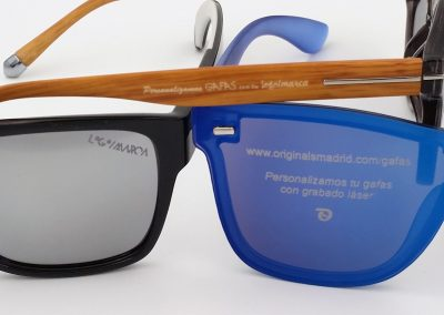 cristales gafas grabados