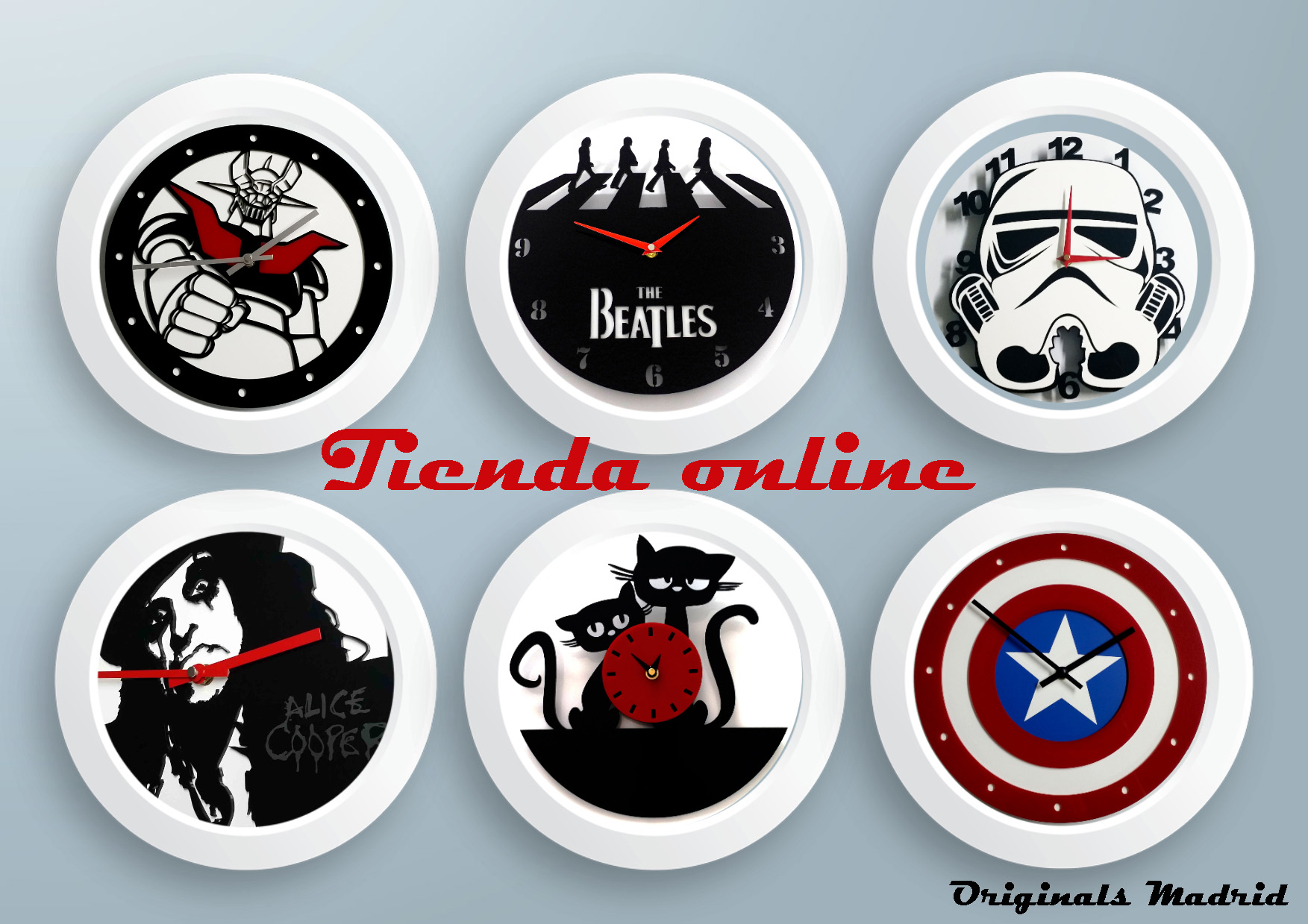 Tienda online relojes y decoración