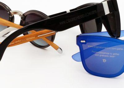 grabamos en gafas con láser