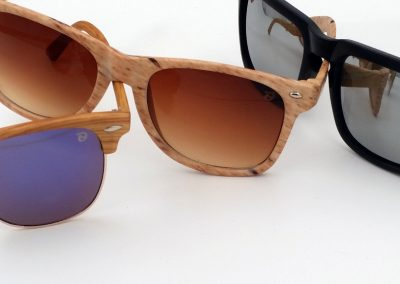 marca gafas en los cristales