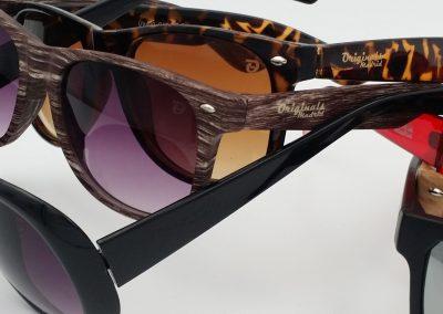 varios modelos de gafas